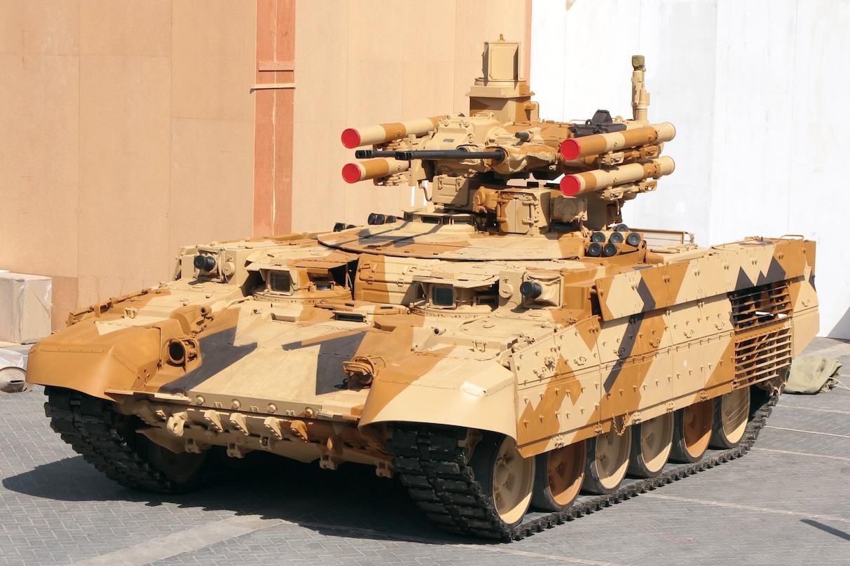 русский танк терминатор 2