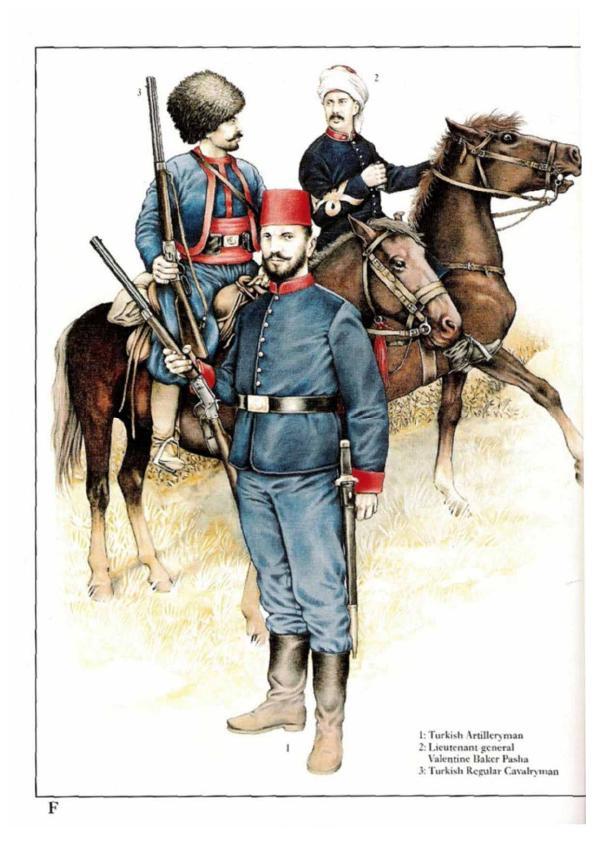 Osprey Men At Arms 277 Russo Turkish War 1877 Osprey MaA ...