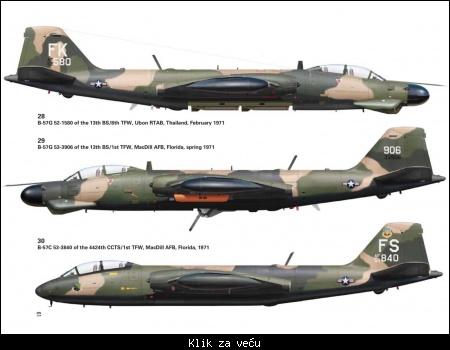 Martin B-57 Canb...B 52 Shot Down A Mig