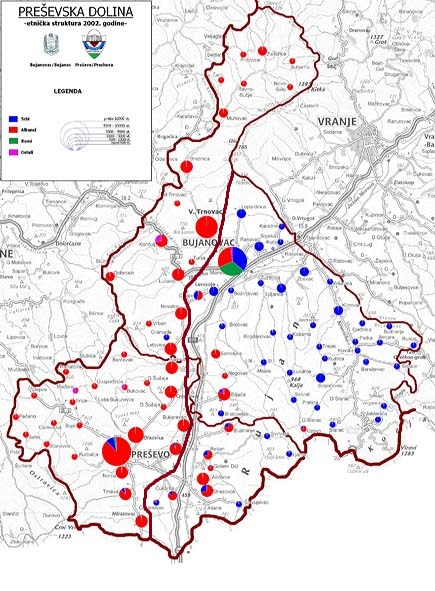 Karta Juga Srbije Superjoden