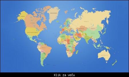 Stvarna Mapa Sveta